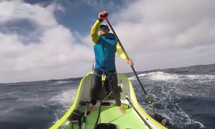 Man Paddles From California To Hawaii In 76 Days
