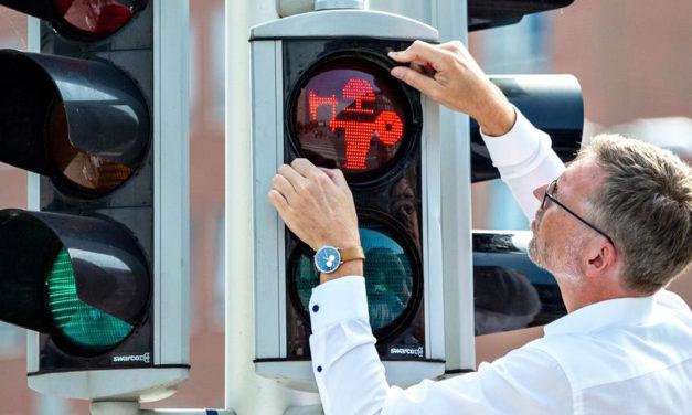Danish City Marks Cross Walks With Viking Signals