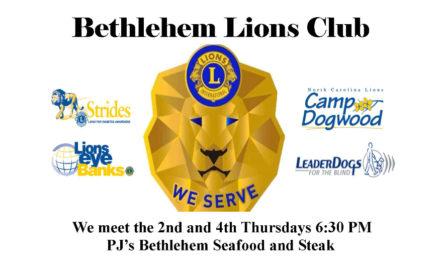 Bethlehem Lions Club Offers Free Health Screenings, 9/21