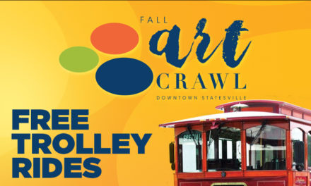 Statesville Art Crawl Has New Trolley Service, This Friday, 9/13