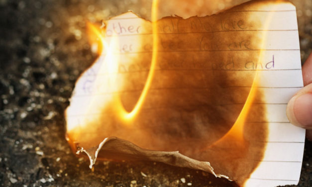Burning Love Letters Indoors Is Not The Best Plan