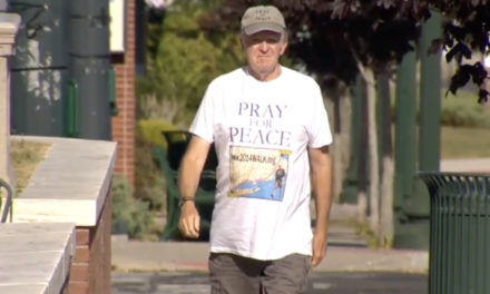 Man Walking For Peace From Yankee Stadium To Fenway Park