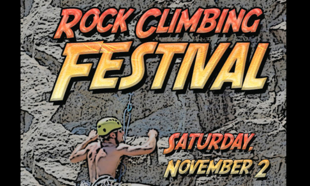 5th Annual Rock Climbing Festival Is Saturday, November 2, At Rocky Face Park
