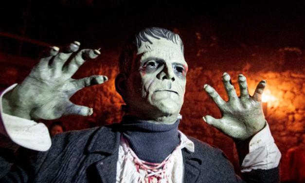 Germans Flock To Frankenstein Castle For Spooky Halloween