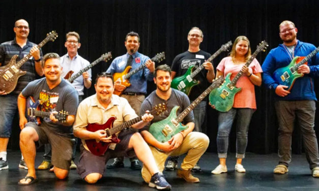 Confiscated Guitars Bound For Hong Kong Donated To School