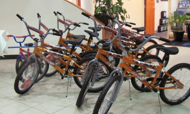 Hickory Firefighters Seek Donations By Dec. 12 For Bikes For Tykes Program