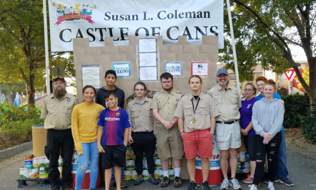 Castle of Cans Collects Record 15.5 Tons Of Food At Oktoberfest
