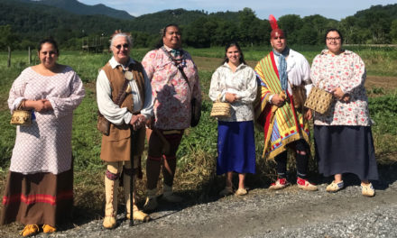 Traditional Cherokee Dance Program At Beaver Library, 11/16