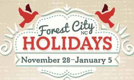Celebrate The Holidays With The Town Of Forest City, 11/28 – 1/5