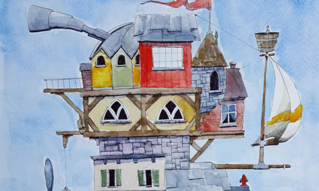 Gallery 27's The Whimsical World Of  Robert Webb Opening Reception, 11/16