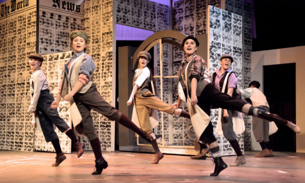 Smash Hit Musical Newsies Continues This Weekend At HCT; Runs Through December 8