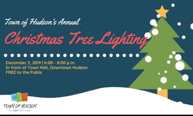 Hudson Lights Up The Holidays With The Annual Christmas Tree Lighting, 12/3