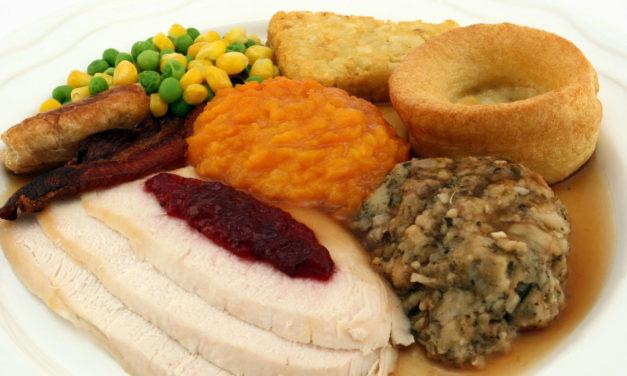 Senior Citizens Thanksgiving  Luncheon At Highland Rec., 11/14