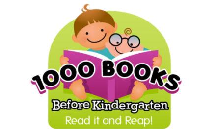 Library Introduces 1000 Books Before Kindergarten Program