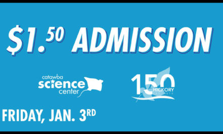 Catawba Science Center Offers $1.50 Admission, Friday, Jan. 3