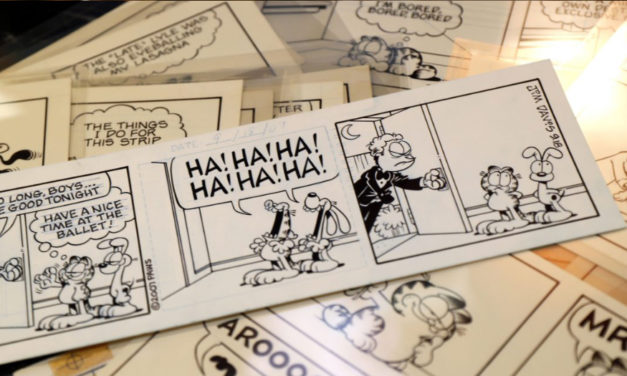 Garfield Cartoonist Is Offering Hand-Drawn Comics At Auction