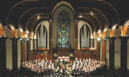 Hickory Choral Society Annual Christmas Concerts, Dec. 6 – 8