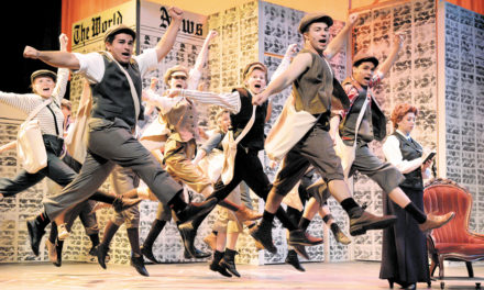 Last Chance To See Smash Hit Newsies At HCT, December 5-8