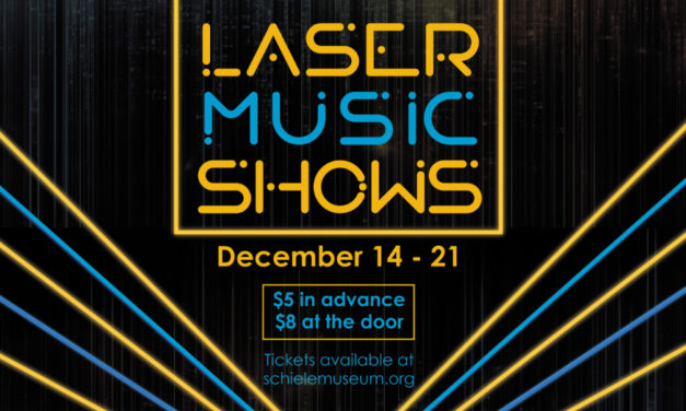 Laser Music Shows At The Schiele Museum Through 12/21