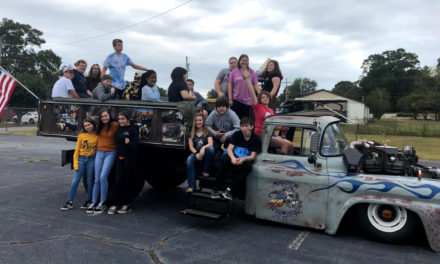 Maiden High School Students Give New Meaning To Hay Ride On December 12