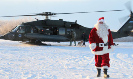 Operation Santa Claus Brings Happiness To Alaskan Village