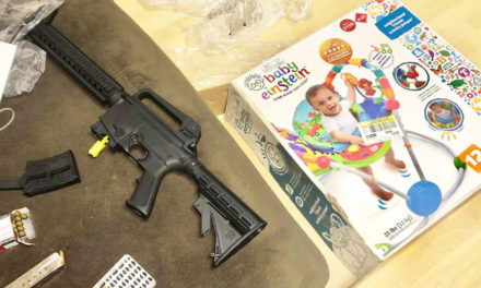 Loaded Gun Found Inside Baby Gift Bought At Thrift Store