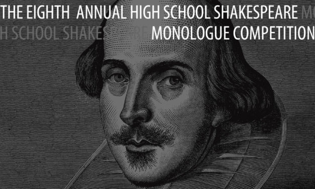 High School Students Invited To Compete In Shakespeare Monologue Competition