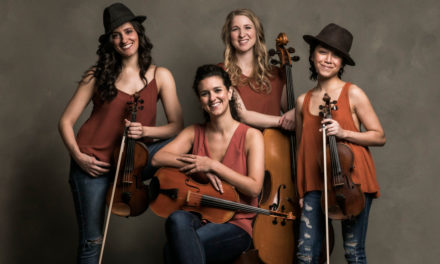 Free Rug Concert At Library With KAIA String Quartet, Jan. 29