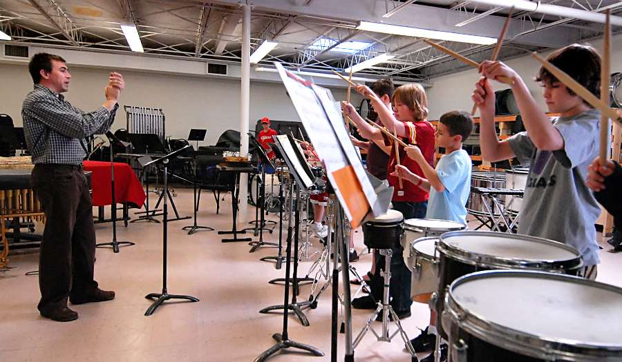 Piedmont Percussion Program Is Accepting New Students, 1/12