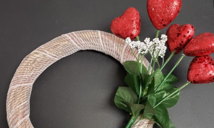 Make A Valentine Wreath At Beaver Library Craft Club, 2/3