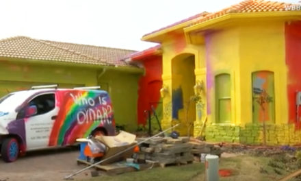 Scary Paint Job Makes $500K House Look Like A Cartoon