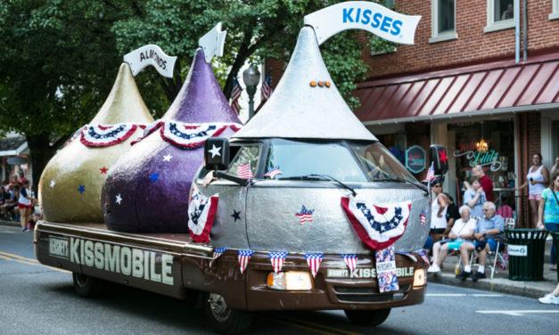 Kiss Them Goodbye! Hershey Retires Fleet Of Kissmobiles