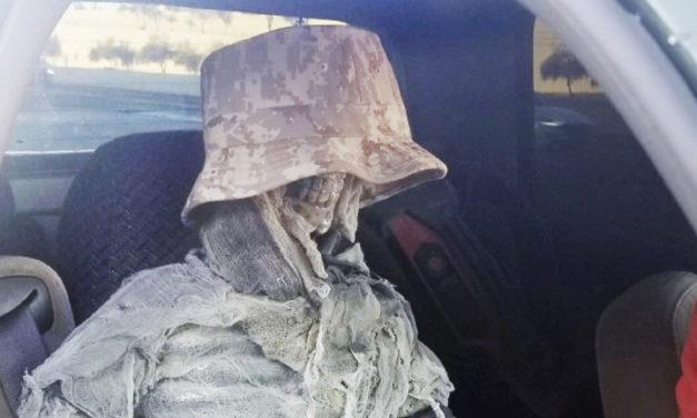 Man Caught Using Fake Skeleton To Drive In Carpool Lane