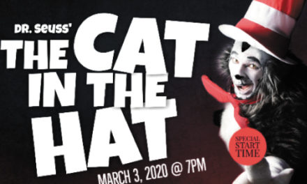 One Night Performance Of Dr. Seuss' Cat in the Hat On March 3