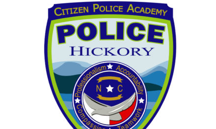 43rd Session Of Hickory Citizens' Police Academy, Apply by 3/10