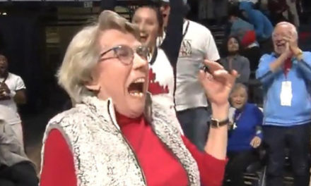 84-Year-Old Woman Sinks Put Across Court To Win New Car