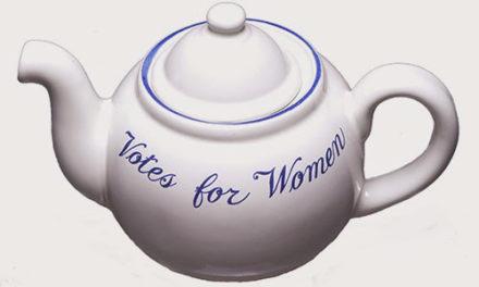 100th Anniversary Suffragist Tea Party This Saturday, Feb. 15
