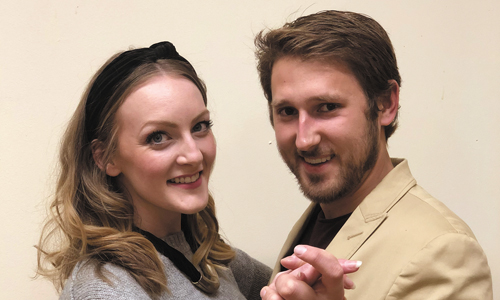 Meet Will And Viola From HCT's Shakespeare In Love, Opens 3/6