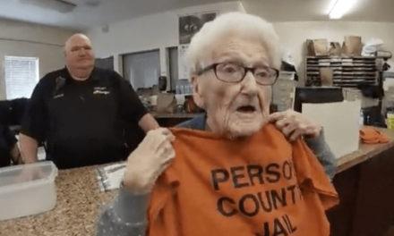 North Carolina Woman Goes To Jail For 100th Birthday