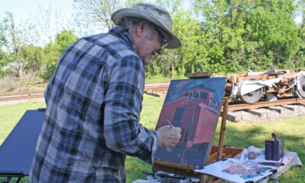 Newton To Host Plein Air Paint Out And Wet Paint Show On 4/25