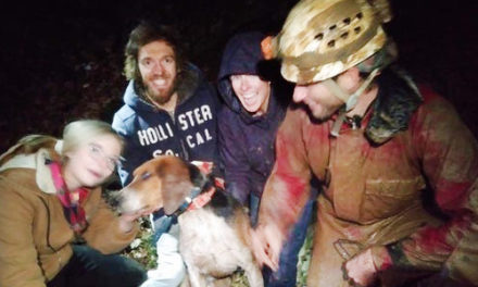 Spelunkers Rescue Champion Hunting Dog From Cave