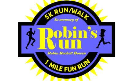 10th Annual Robin's Run 5K And 1-Mile Fun Run Is Set For April 4