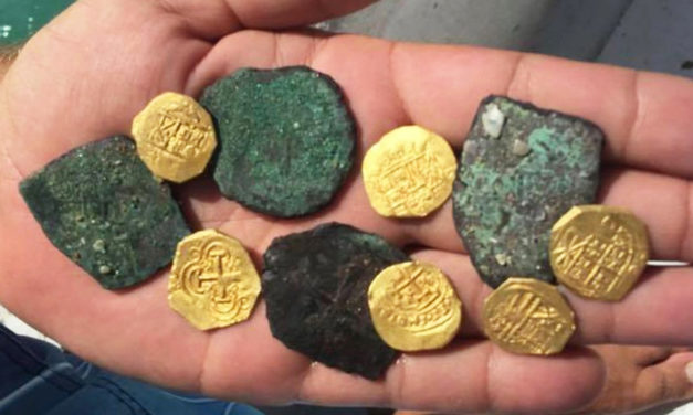 Spanish Coins Dating To 1712 Found On Florida Beach