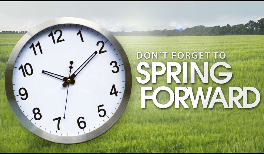 It's Time To Change Your Clock, Change Your Batteries, This Sunday, March 8