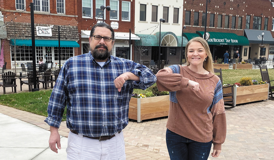 Hickory Businesses Team Up To Make Hand Sanitizer Available, Promote Gift Cards & To-Go Specials