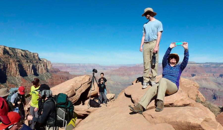 National Parks Balancing Need For Social Media And Serenity