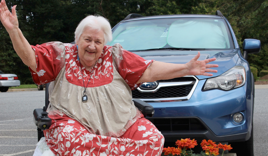 Jim Armstrong's Subaru Share The Love Event  Selected Catawba County's Meals On Wheels