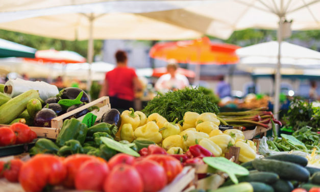 Downtown Hickory Farmers Market Sets Up Beside Park