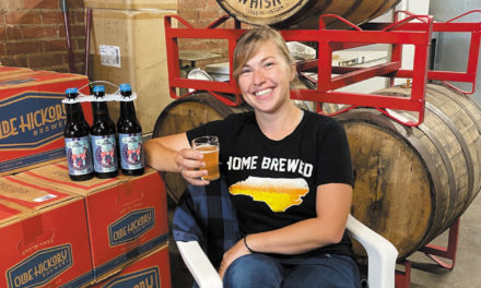 OHB Brewer Sarah Todd Designed A Beer, Flowers For Geirhild, To Honor The Norse Goddess Of Brewing