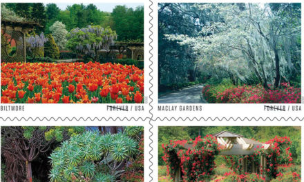 USPS American Gardens Forever Stamps Include Biltmore Estate
